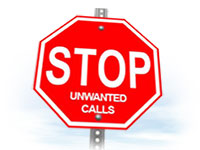 Stop harassing calls